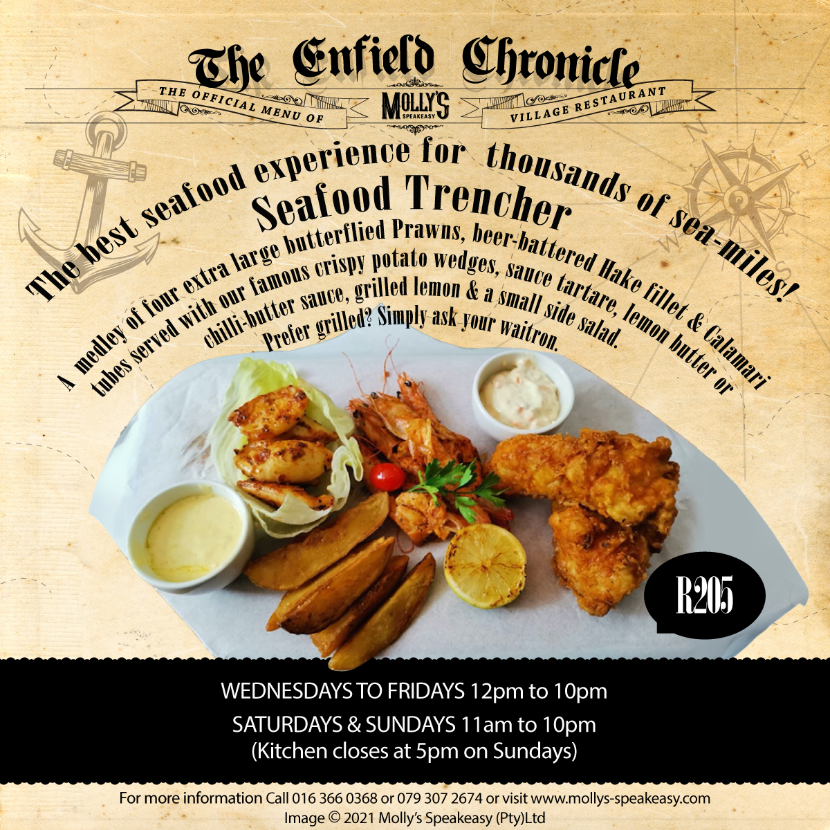 Seafood Trencher
